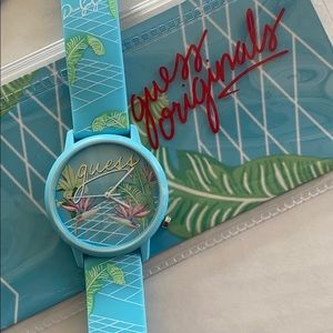 Guess Vaporwave Unisex Color Silicone Watch